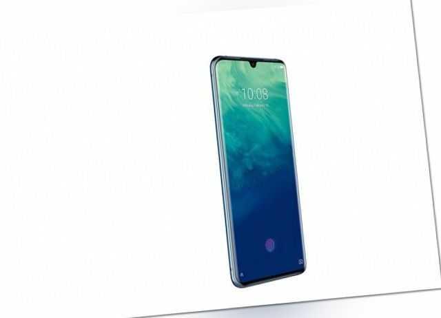 ZTE Axon 10 Pro 128GB [Dual-Sim] blau - WIE NEU