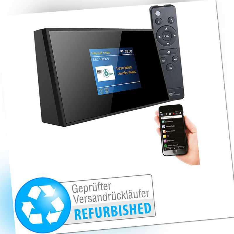 VR-Radio Digitaler WLAN-HiFi-Tuner mit Internetradio, DAB+(Versandrückläufer)