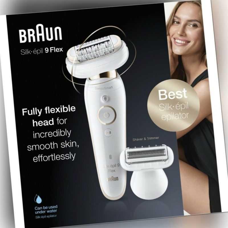 Braun SES 9002 3D Silk-epil 9 Flex Epilierer weiß