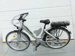 """Fischer EPAC Alu City Fahrrad E-Bike Ecoline ECU 1603 28"""" mit Akku unvollständig"""