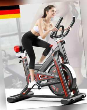 Aerobic Heimtrainer Indoor Training Fitness Cardio Bike Fahrrad Pulsmesser Stufe