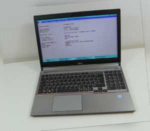 "Fujitsu Lifebook E756 15,6"" Intel Core i7-6600U @ 2,60GHz OHNE Ram, OHNE FP"