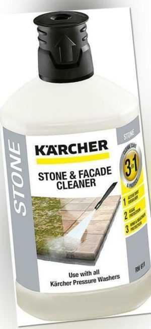 Kärcher Stein- und Fassadenreiniger 1 Liter Reiniger Dampfstrahler