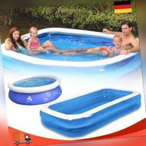 Planschbecken Aufblasbar Schwimmbecken Familien Pool Kinderpool Gartenpool DE
