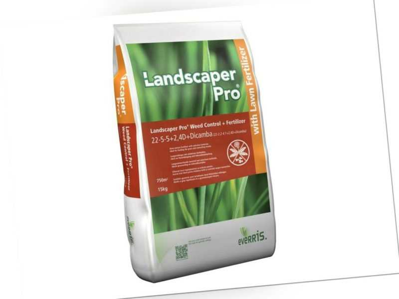 Landscaper Pro Weed Control NPK Rasendünger mit Unkrautvernichter 10kg für 750m²