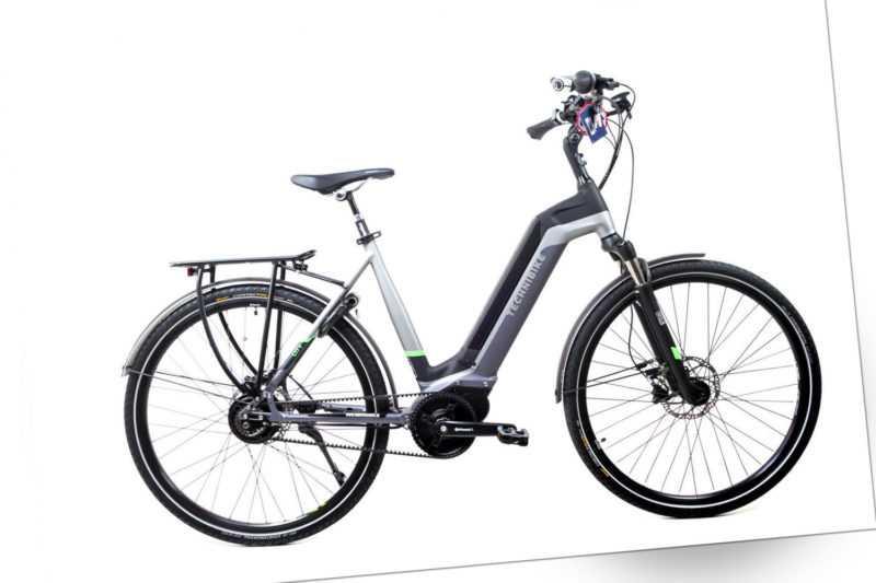 28 Zoll Fahrrad TechniBike E Bike Riemen N330 Nu Vinci Conti Mittelmotor Gr.M