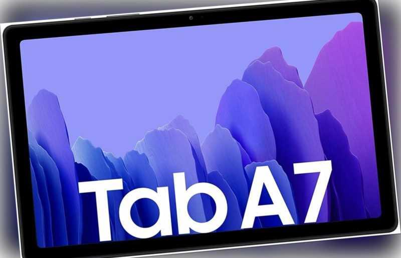 Samsung Galaxy Tab A7 32GB WiFi & Cellular LTE Gray Neuware ohne Vertrag SM-T505