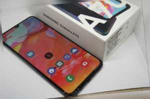 █▬█ █ ▀█▀ Samsung Galaxy A70 - SM-A705F - 128GB - Schwarz...