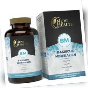 Basische Mineralien 240 Kapseln - basisch / vegan - Citrat-basis - Basenfasten