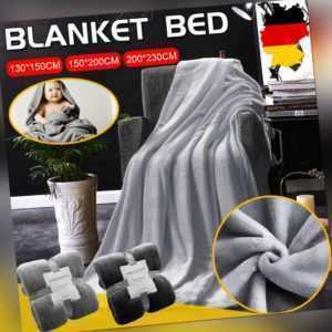 250g/㎡ Decke Baumwolldecke Kuscheldecke Flanell Tagesdecke
