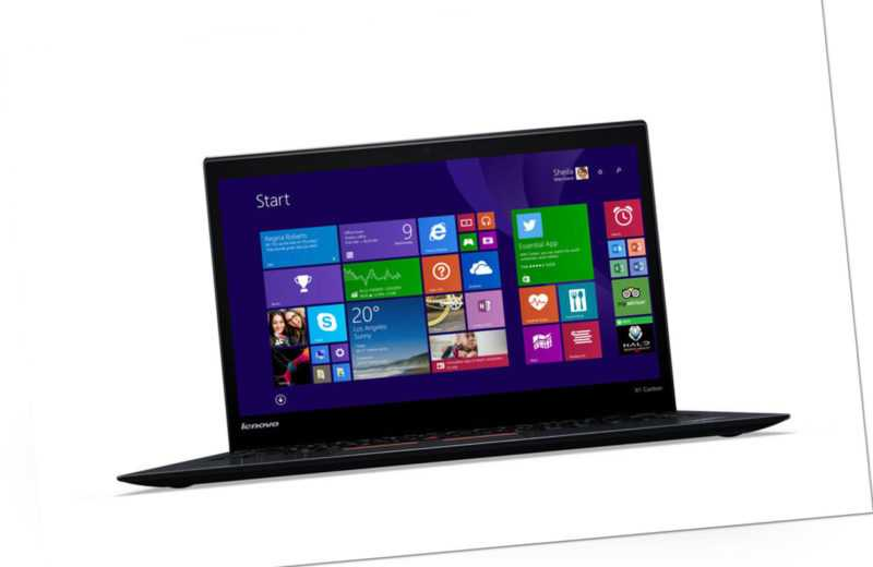 "Lenovo ThinkPad X1 Carbon 2016 - I5-6200U 14"" IPS FHD 8GB 256GB W10"