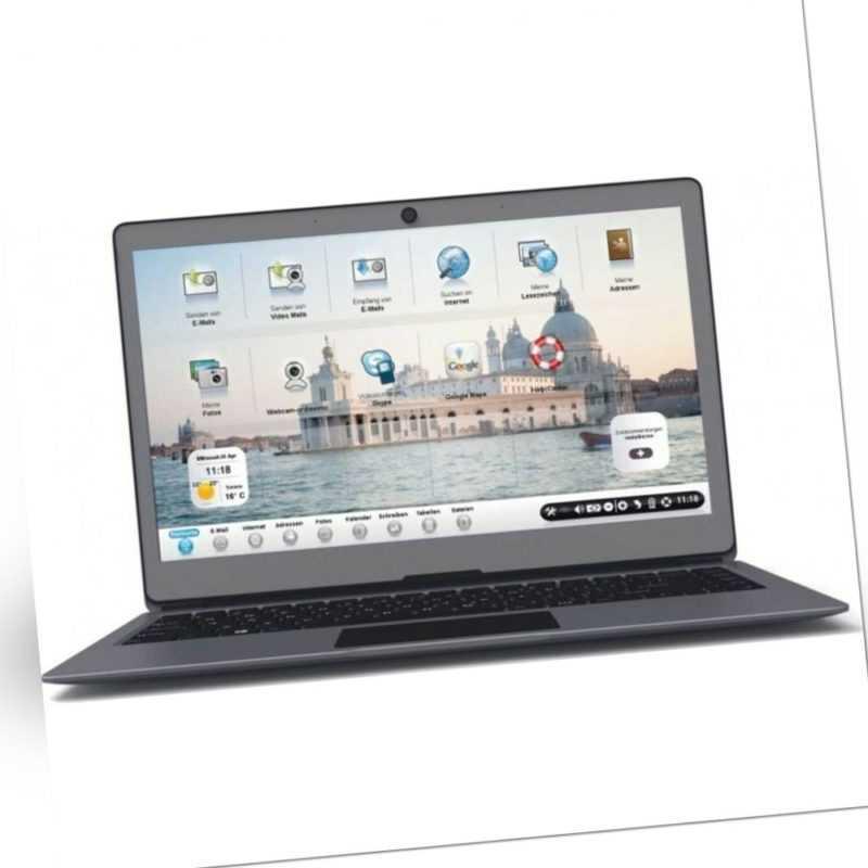 Ordissimo Agathe 3 14 Zoll Notebook 64GB SSD 4GB RAM Intel UHD Graphics 1,1GHz