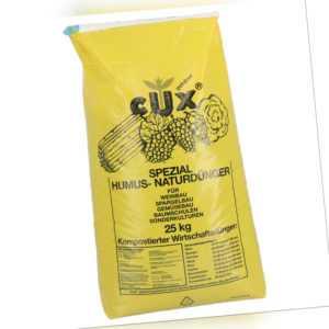 CUXIN DCM Humuskorn organischer NPK Universaldünger 25 kg Volldünger