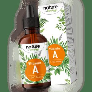 Vitamin A 1700 Tropfen 50 ml Retinol vegan flüssig 1500 µg 5000 I.E. hochdosiert