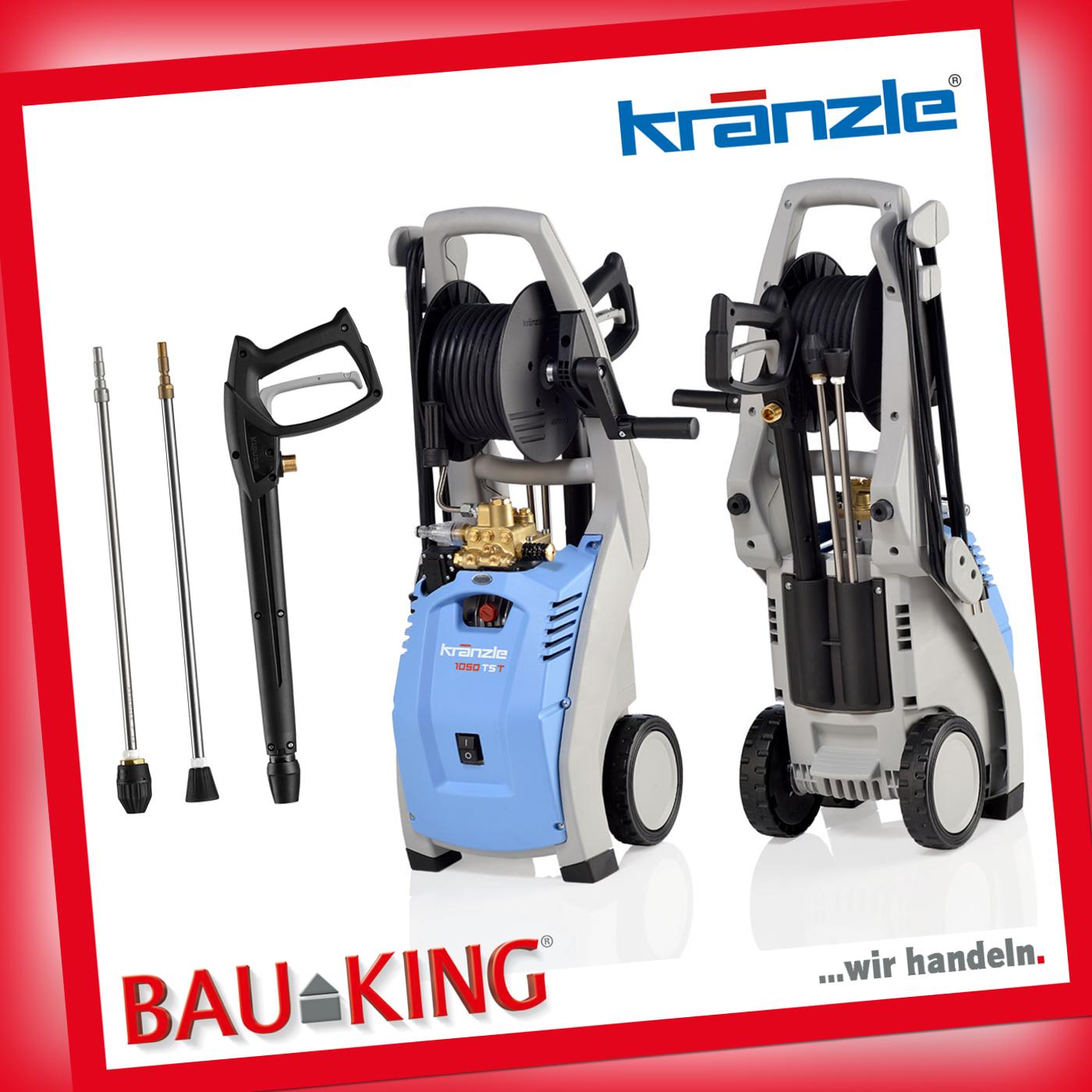 Kränzle Hochdruckreiniger K 1050 TST mit Schmutzkiller Lanze 130 bar