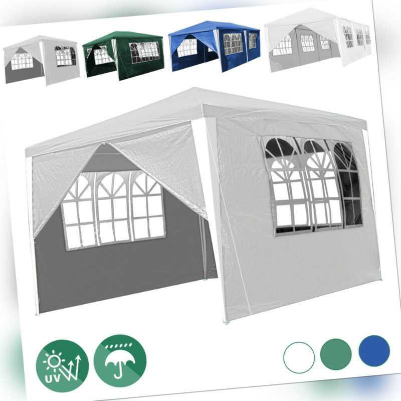 Pavillon Camping 3x3-3x9m Festzelt Wasserfest Langlebig Partyzelt