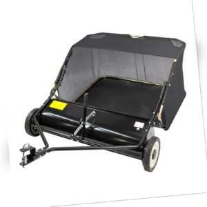 Rasenkehrmaschine Laubkehrmaschine Rasenkehrer Laubkehrer für Rasentraktor 95 cm
