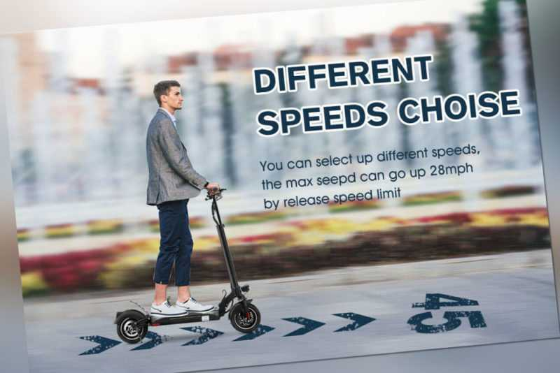 2021 Elektro Roller E-Scooter 500W, 45km, faltbar,13AH,Elektroscooter Roller DE