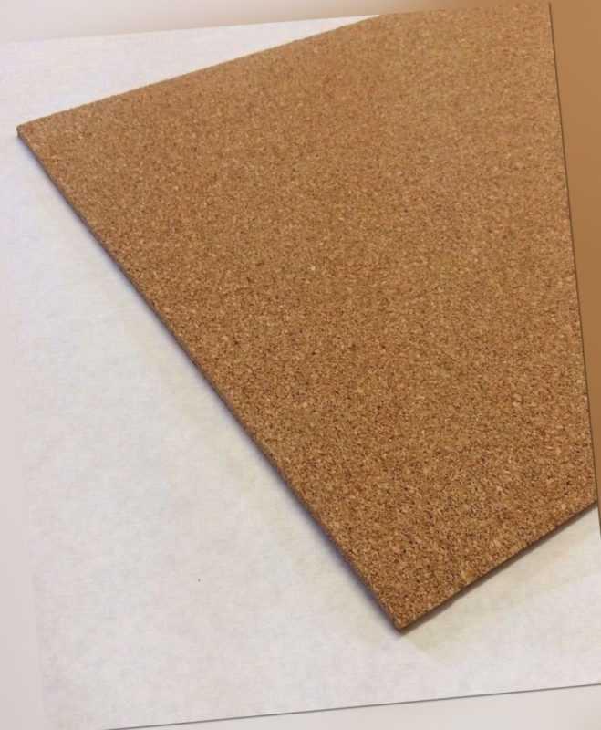 Pinnwand, Korkplatten, Wandkork, Korkdämmung, Kork, 3 mm Stark, XXL Format