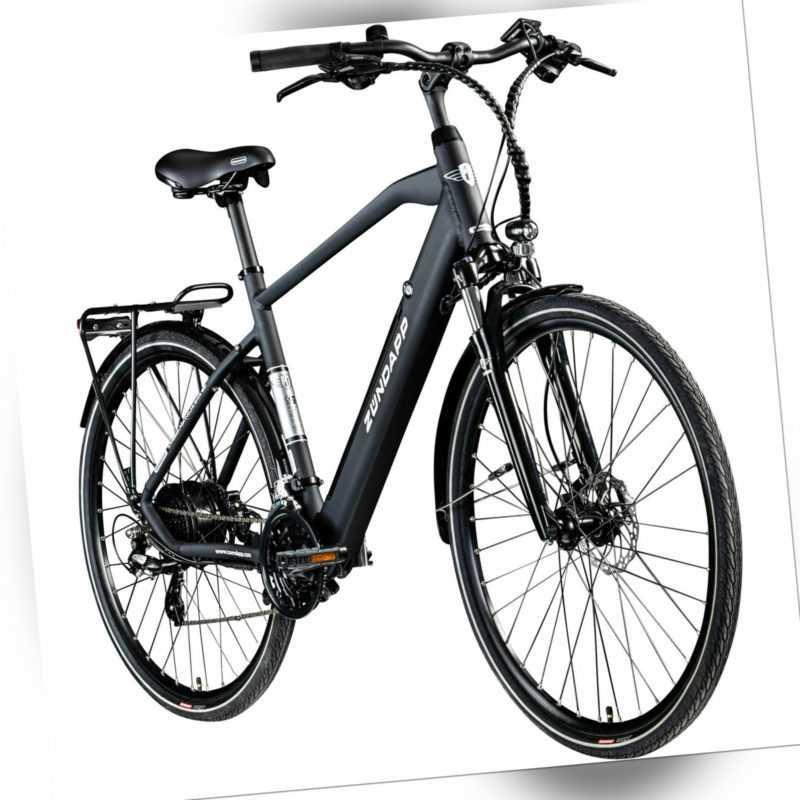 E-Bike 28 Zoll E Trekkingrad Herren Pedelec 700c Zündapp Z810 Fahrrad Trekking s