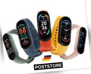 Fitness Tracker Smartwatch Bluetooth Sport Armband Schrittzähler Wasserdicht