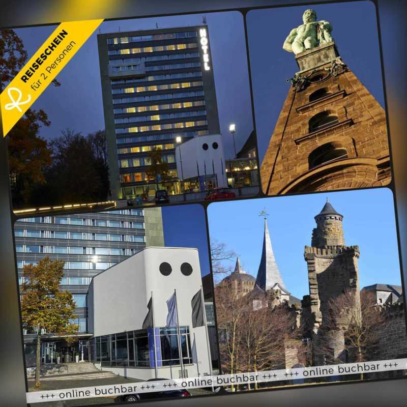 Kurzurlaub Kassel 3 Tage 2 Personen 4* H4 Hotel Hotelgutschein Städtereise Reise