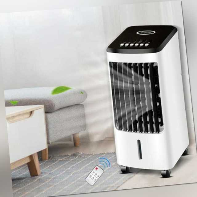 Mobiles Klimaanlage Mit Fernbedienung Klimagerät Ventilator Aircooler Luftkühle