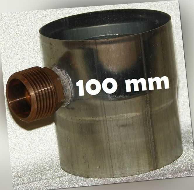 Regenwassersammler 100 mm Titan - Zink Regensammler Füllautomat