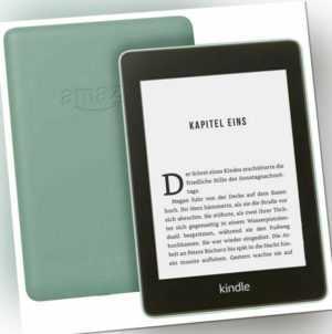 Amazon Kindle Paperwhite (10.Generation) 8GB, Wi-Fi, 6 Zoll -grün-wasserfest,8GB