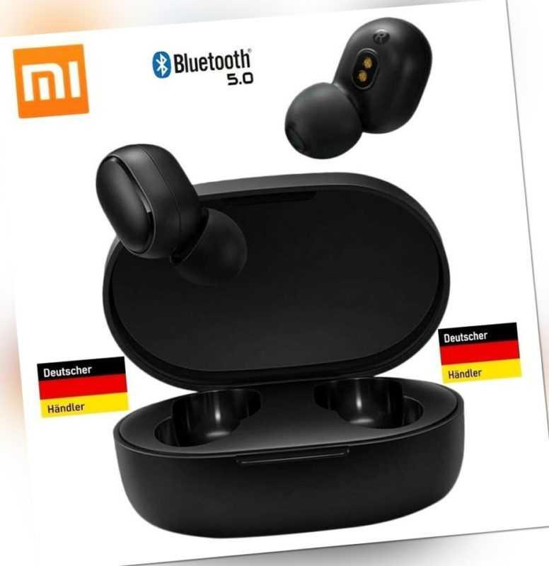 "Xiaomi Earbuds Mi True Wireless Earbuds 2 Stück Basic   in Schwarz  1 Paar ""NEU"""