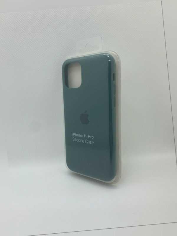 iPhone Silikon Case Grün für Original Apple iPhone 11 PRO Schutzhülle Hülle