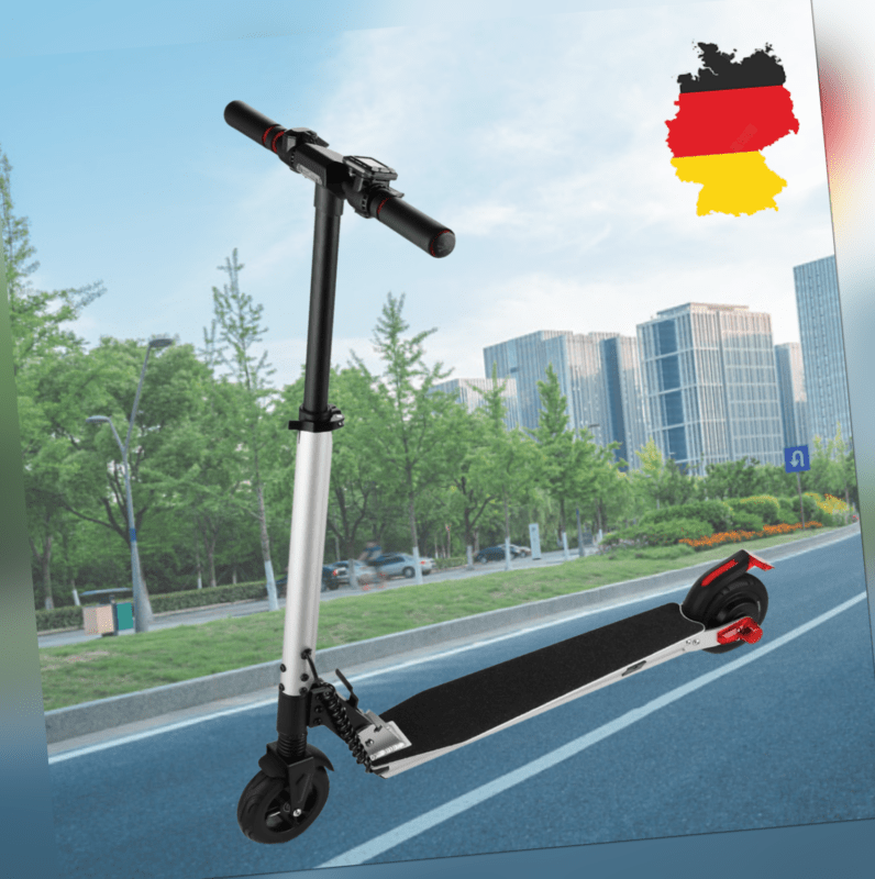 Elektroroller E-Scooter bis 25km/h Faltbar Elektro Roller Tretroller DE DHL