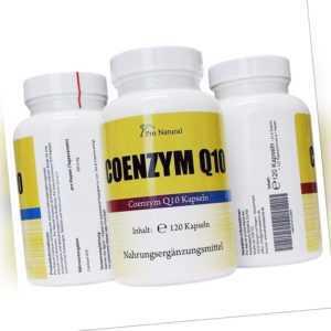 Coenzym Q10 (200mg/Kapsel) 360 vegetarische Kapseln (Cellulose) Co Enzym Q 10