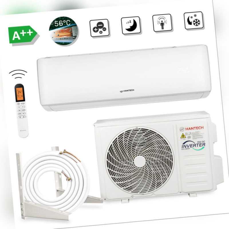 HANTECH Split Klimaanlage R32 Klimagerät Klima 2,6-3,3kW 9000-12000BTU Mod ELITE