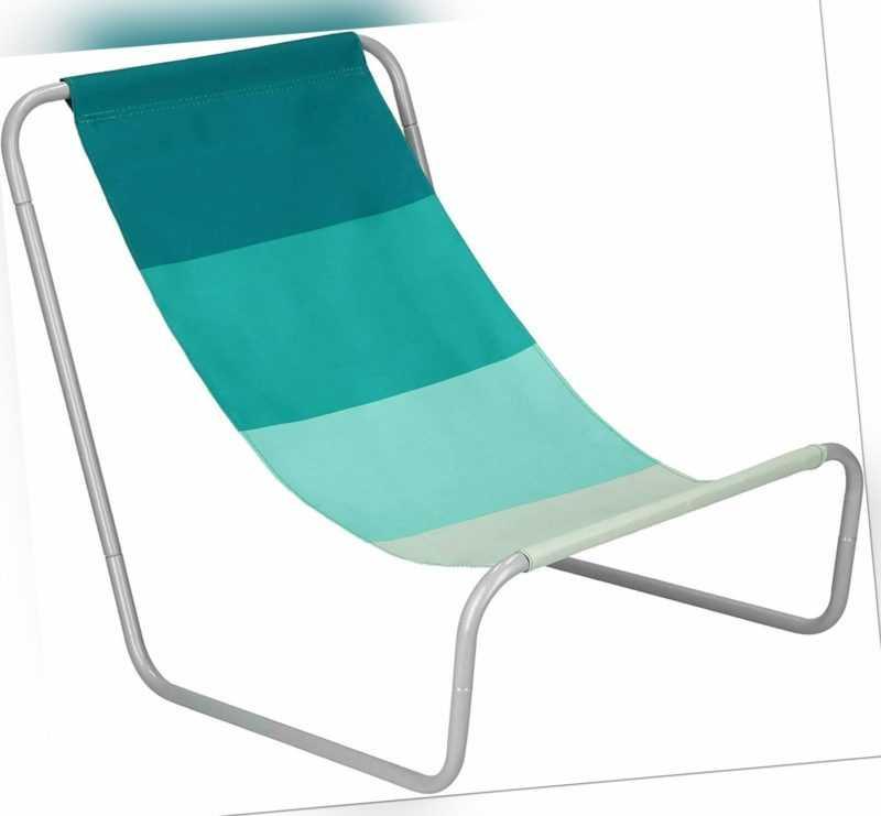 Liegestuhl Strandliege Strandstuhl Gartenliege klappbar kompakt Sonnenliege