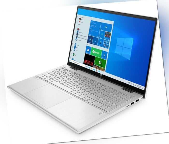 HP Pavilion x360 15-er0210ng 15,6 Zoll Touch 256 GB SSD 8 GB RAM silber B-WARE