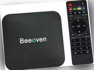 beeoven BX6 Android TV Box 1 GB + 8 GB Android 7.1 Amlogic 64bits Quad-Core ARM