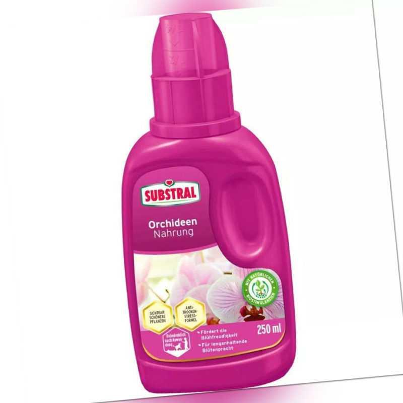 SUBSTRAL® Orchideen Nahrung 250 ml mit natürlichen Biostimulanzien