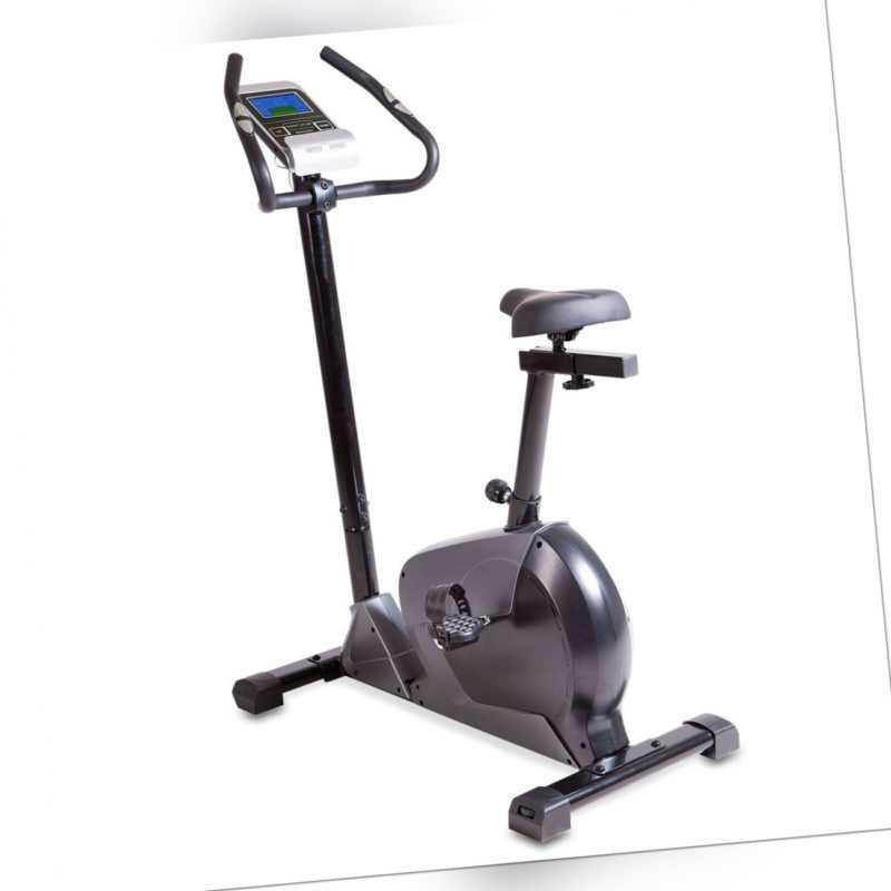 Cardio-Heimtrainer Ergometer Handpulssensoren 7 KG Schwungmasse Transportrollen