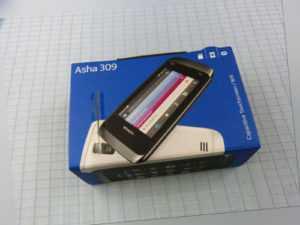 Original Nokia Asha 309 Schwarz! Neu & OVP! Ohne Simlock! RAR!