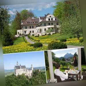 Kurzurlaub in Füssen im Allgäu 3 Tage Hotel Villa Toscana Bayern Urlaub Wandern