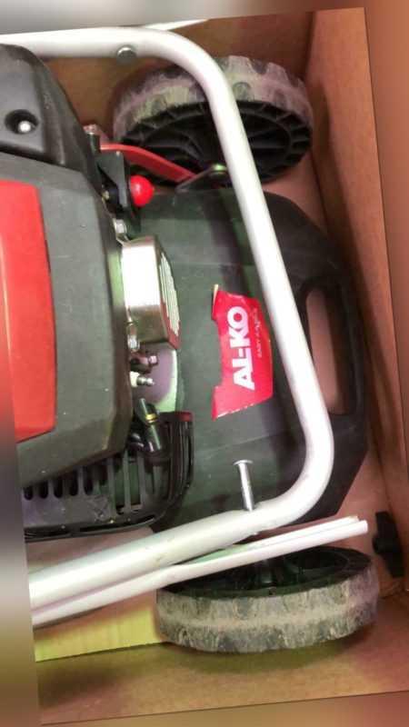 AL-KO - Selbstfahrender Benzin-Rasenmäher - 160cc OHV, 51cm Schnitt, Schneiden,