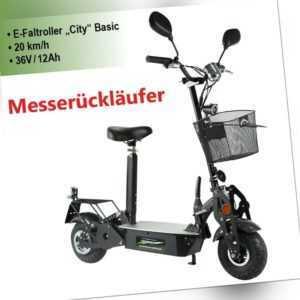 MESSERÜCKLÄUFER E-Scooter-Elektro Roller-City-500 Watt -20 km/h