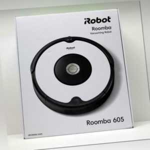 I-ROBOT Staubsaugerroboter iRobot Roomba 605