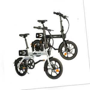 Ebike E-Bike Citybike Elektrofahrrad Klapprad E-Faltrad Fahrrad 16 Zoll Pedelec