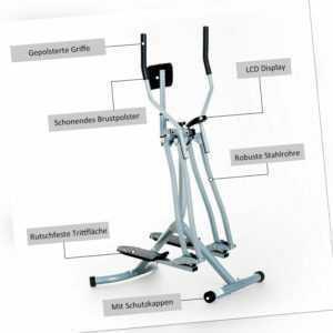 Crosstrainer Ergometer Heimtrainer Nordic Cardio Fitness Stepper Ergometer