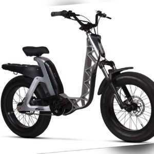 "Fantic ISSIMO URBAN Connect grau - E-Pedelec E-Bike  20"" Zoll Reifen - Fahrrad"