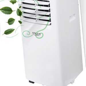 Mobile Klimaanlage 7000 BTU 2050 W Klimagerät Timer+Luftentfeuchter Ventilator