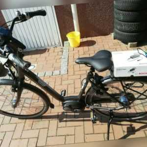 E-Bike Fahrrad AluSparta-Activ Line neu Accu neuste Bosch Update Inspektion top