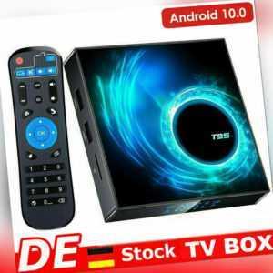 T95 Smart TV BOX 4GB+64GB Android 10.0 Quad Core WIFI Netzwerk Media Player U2D6
